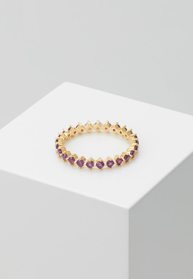ANILLO BIRD - Pierścionek - gold-coloured/purple
