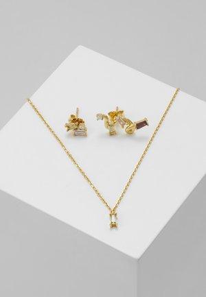 SET - Halskette - gold-coloured