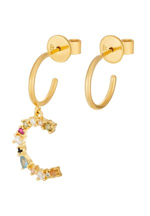 E EARRING - Boucles d'oreilles - gold-coloured