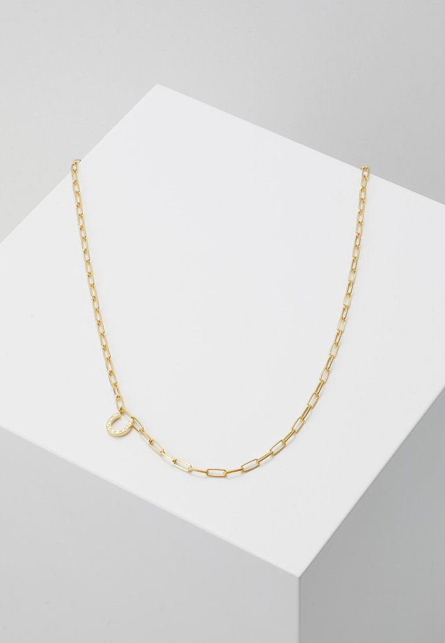 WILD NECKLACE - Halskette - gold-coloured
