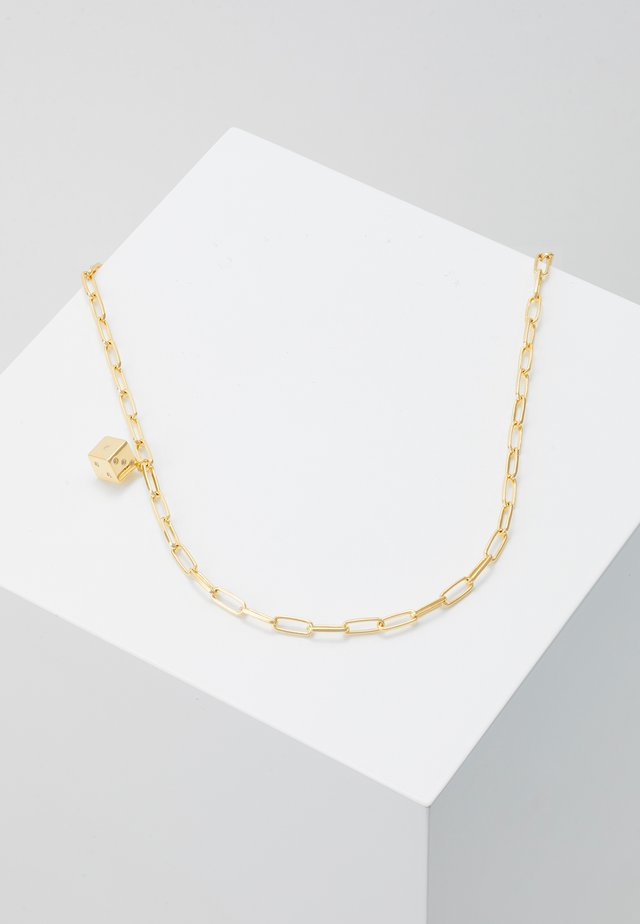 PLAYER NECKLACE - Halsband - gold-coloured