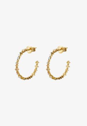 HALO EARRINGS - Earrings - gold-coloured