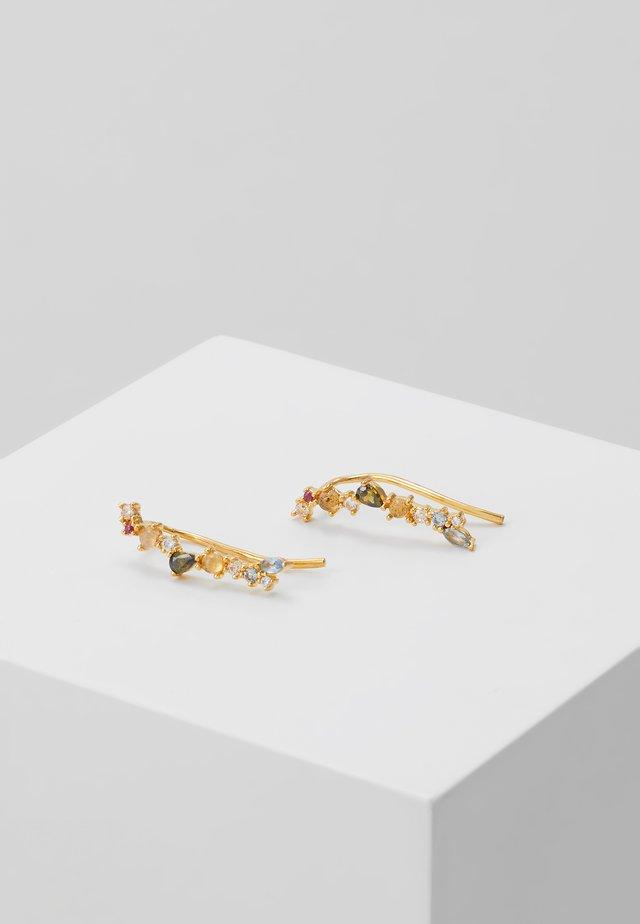 EUPHORIA EARRINGS - Boucles d'oreilles - gold-coloured