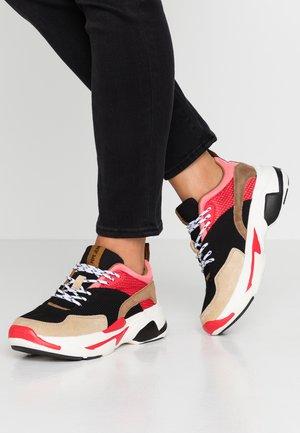 SINYU NEW - Sneakers laag - black