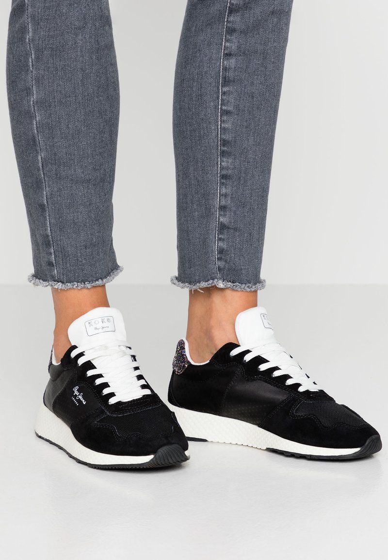 Pepe Jeans - KOKO SKY - Joggesko - black