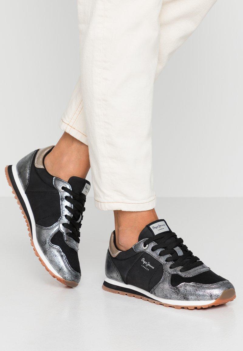 Pepe Jeans - VERONA TWIN - Zapatillas - chrome