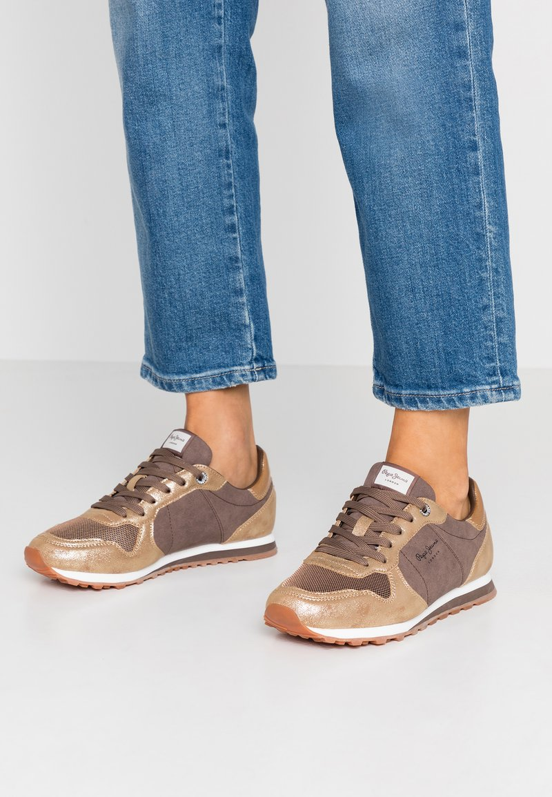 Pepe Jeans - VERONA TWIN - Trainers - gold