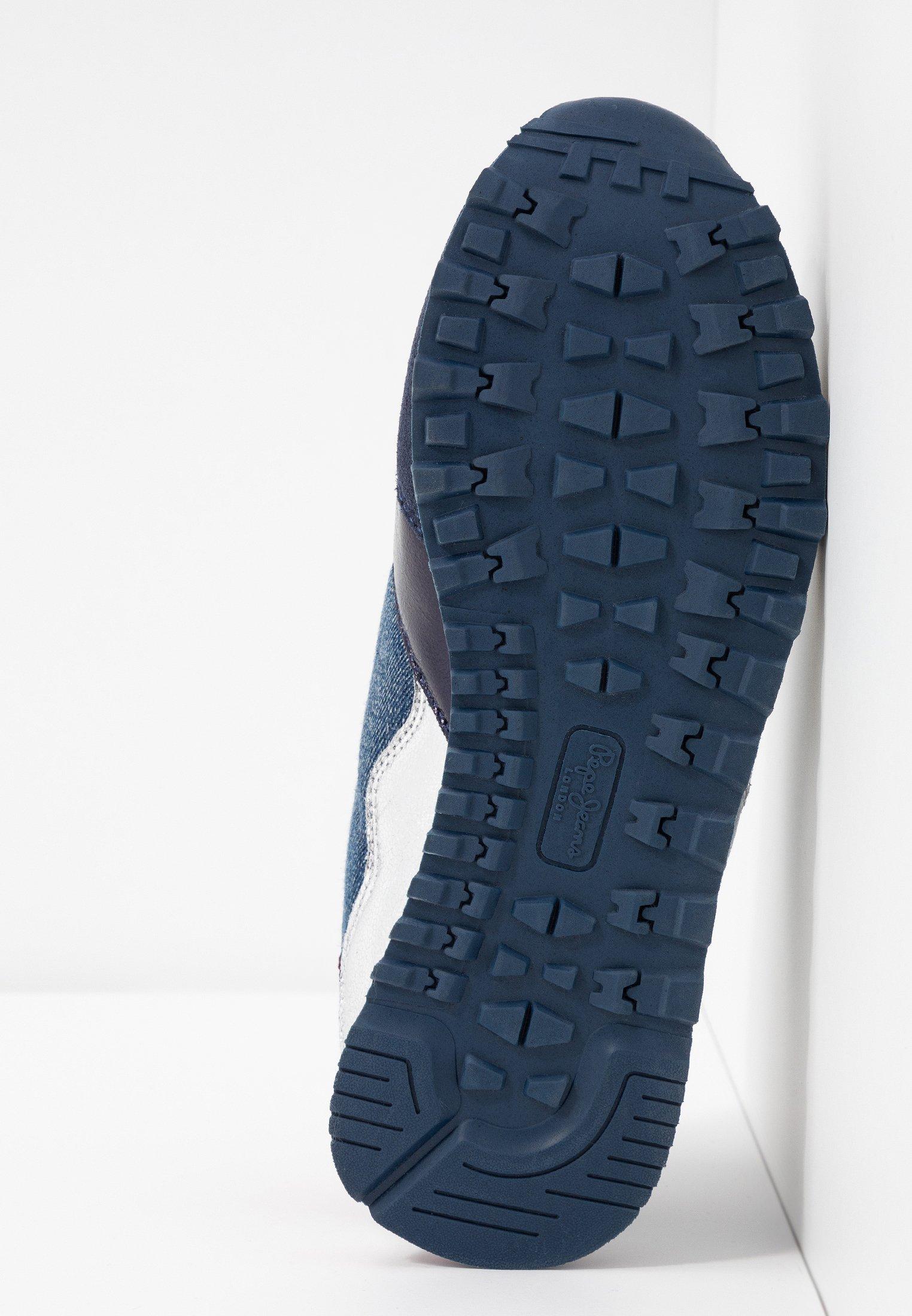 Basses Navy Jeans Verona FrayBaskets Pepe rCxBdeo