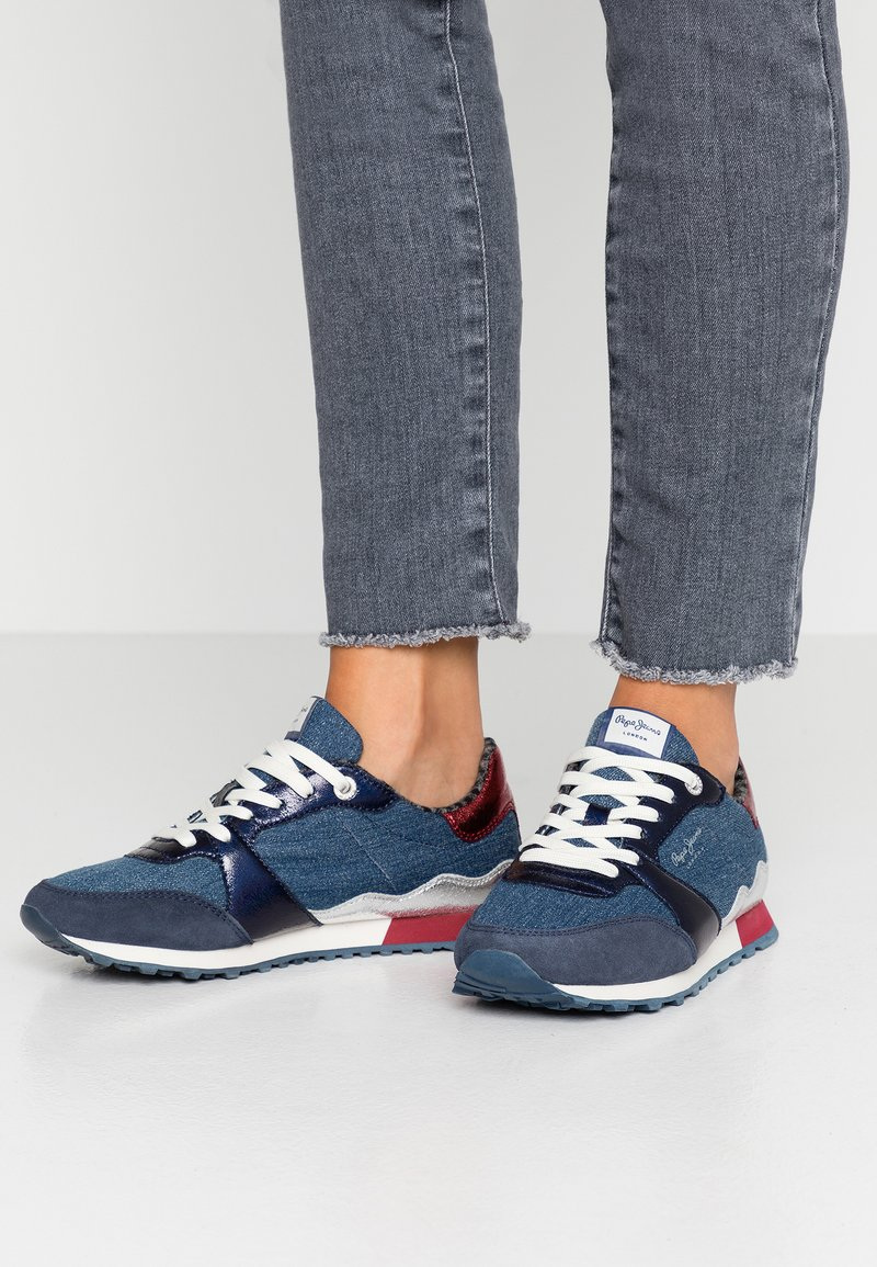 Pepe Jeans - VERONA FRAY - Trainers - navy