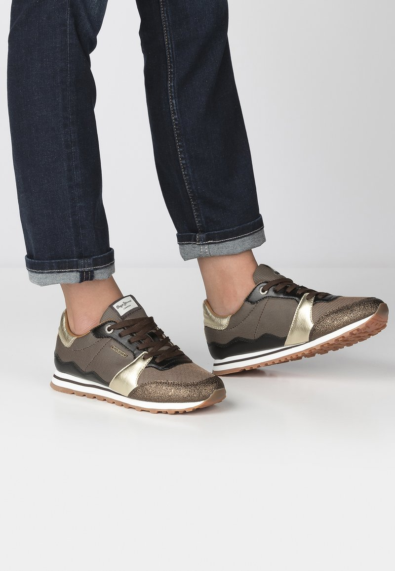 Pepe Jeans - Sneakers laag - gold