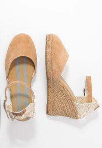 Pepe Jeans - WENDY BASS - High heeled sandals - tobacco - 4