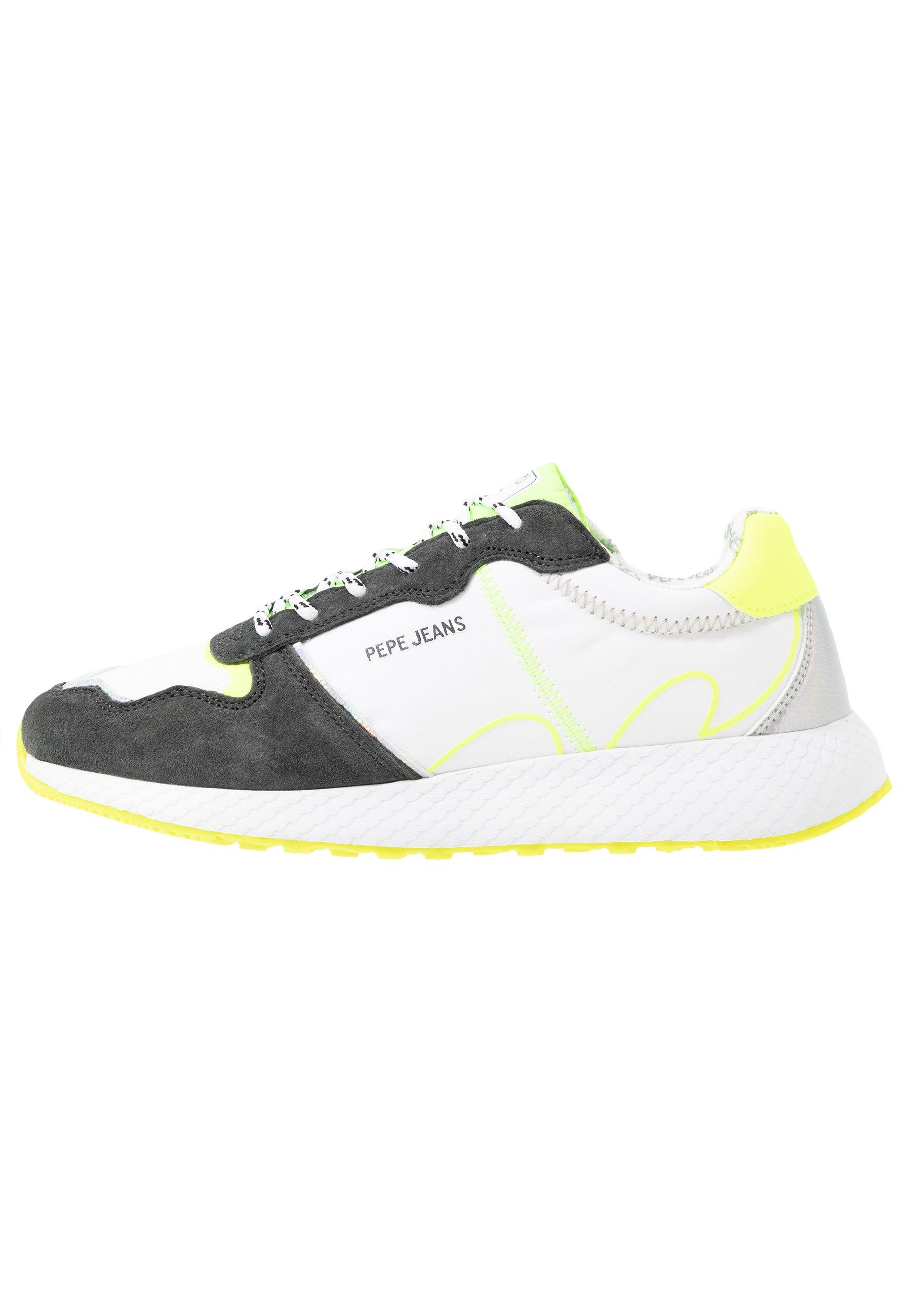 Pepe Jeans Koko Tech - Sneaker Low Neon Yellow Black Friday