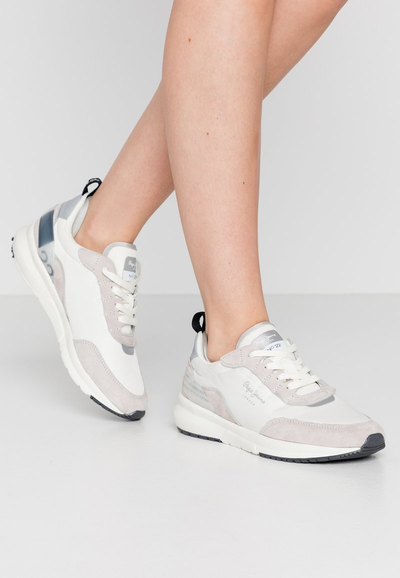 Pepe Jeans - No.22 SUSTAINABLE SNEAKER - Zapatillas - optic white