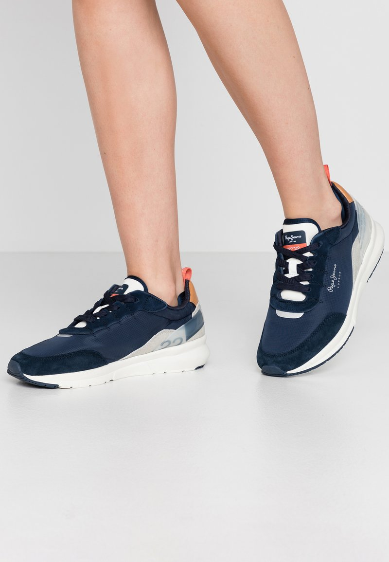 Pepe Jeans - No.22 SUSTAINABLE SNEAKER - Trainers - navy