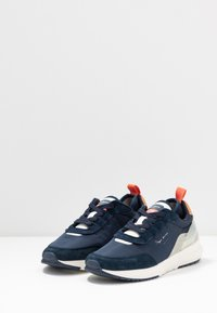 Pepe Jeans - No.22 SUSTAINABLE SNEAKER - Trainers - navy - 4