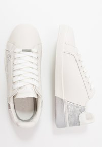 Pepe Jeans - BROMPTON SEQUINS - Trainers - silver - 3