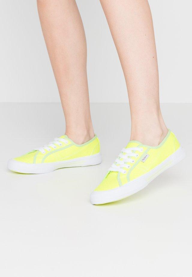 ABERLADY FLUOR - Sneakers - neon yellow