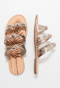 Pepe Jeans - MARCH METS - Pantofle - champagne - 3