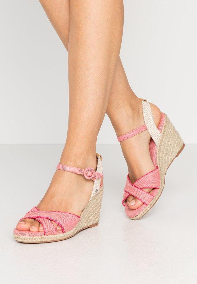 SHARK SWEET - Sandaletter - blush