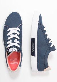 Pepe Jeans - KENTON BASIC WOMAN - Sneakersy niskie - indigo - 3