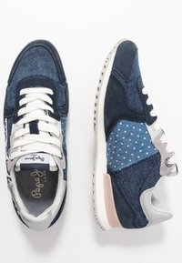 Pepe Jeans - TINKER TAPE WOMAN - Zapatillas - dark denim - 3