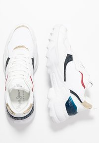 Pepe Jeans - ECCLES CLEX - Sneakersy niskie - white - 3