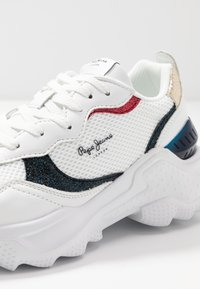 Pepe Jeans - ECCLES CLEX - Sneakersy niskie - white - 2