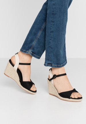 SHARK LADY - High heeled sandals - black