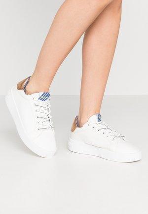 BRIXTON FUN - Sneakers laag - white