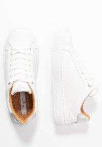 Pepe Jeans - ADAMS LOGO - Trainers - white - 3