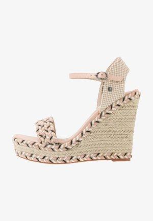 OHARA LOGO - Sandalen met hoge hak - pale pink