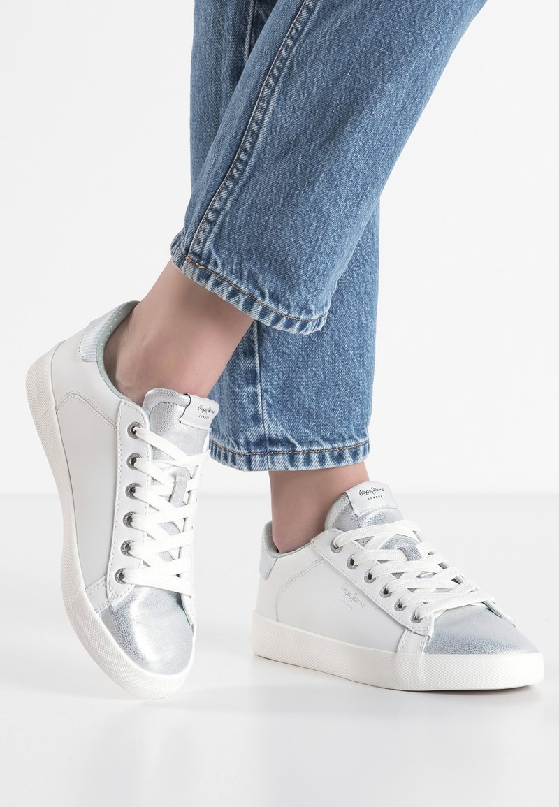 Pepe Jeans - KIOTO ONE - Trainers - silver