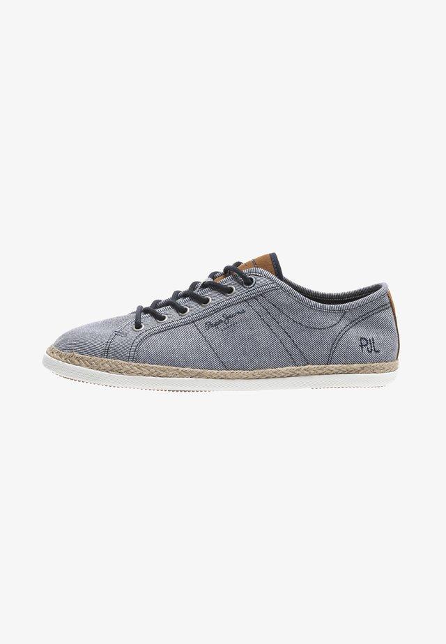MAUI BASIC TWILL - Sneakersy niskie - navy blue