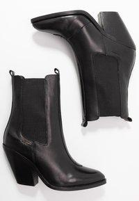 Pepe Jeans - HAMPSTEAD ARROW - Botki na obcasie - black - 3