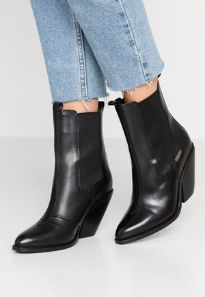 HAMPSTEAD ARROW - High heeled ankle boots - black