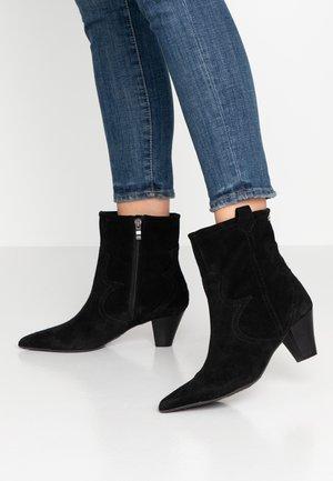 GOSPEL TEX - Cowboy/biker ankle boot - black