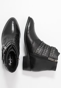 Pepe Jeans - CHISWICK LESSY - Boots à talons - black - 3