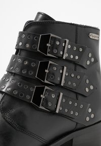 Pepe Jeans - CHISWICK LESSY - Boots à talons - black - 2