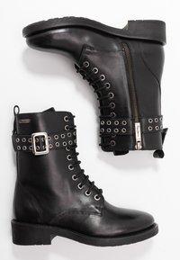 Pepe Jeans - MADDOX BASS - Cowboy-/Bikerlaarsjes - black - 3