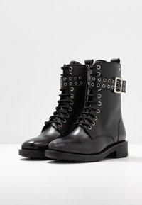 Pepe Jeans - MADDOX BASS - Cowboy-/Bikerlaarsjes - black - 4