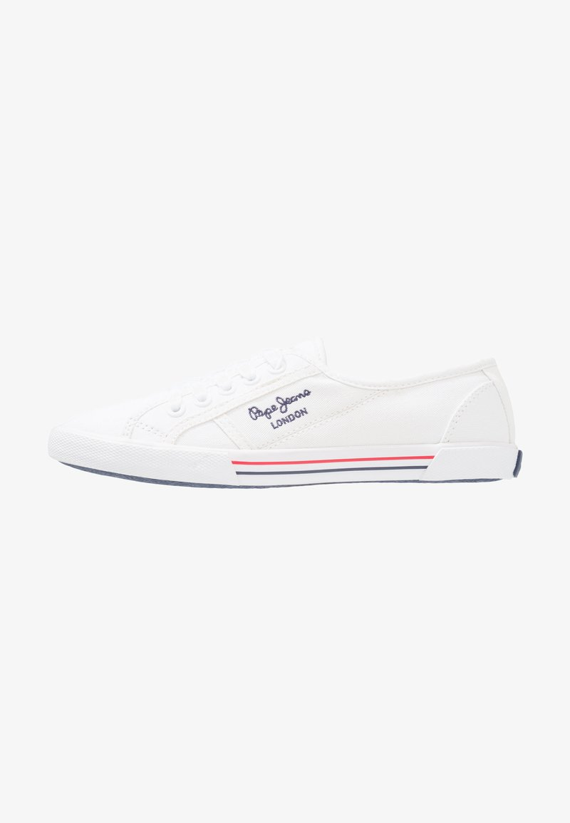 Pepe Jeans - ABERLADY - Sneakersy niskie - white