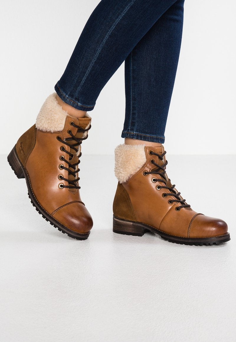 Pepe Jeans - MELTING WARM - Winter boots - nut brown