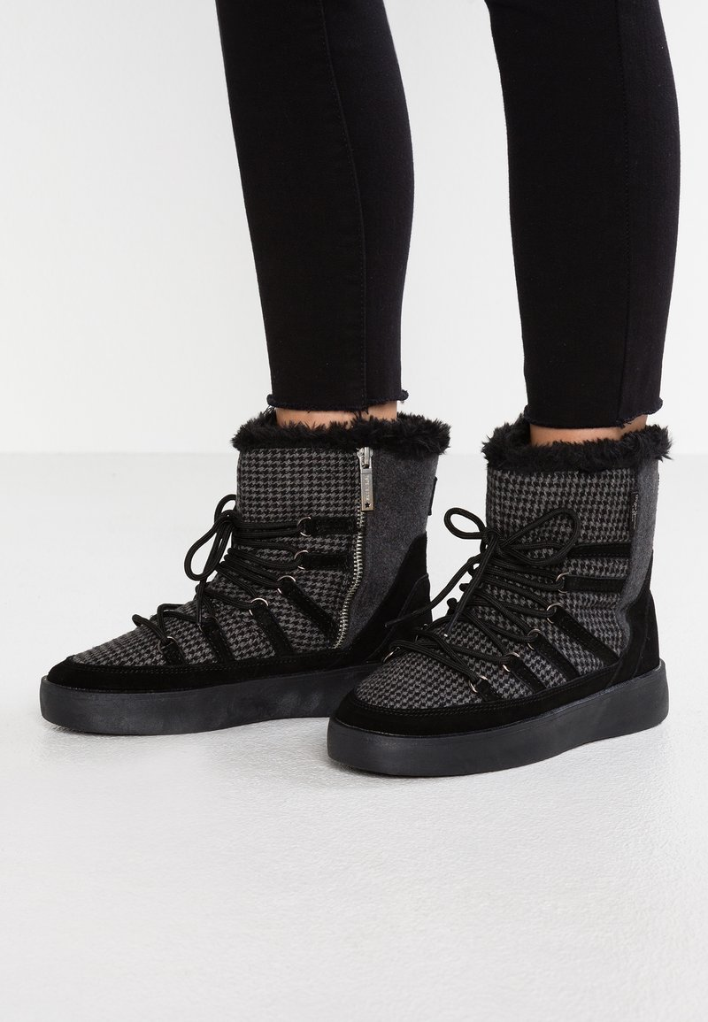 Pepe Jeans - BRIXTON - Plateaustiefelette - black