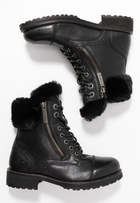 Pepe Jeans - MELTING RUSS - Bottines à lacets - black - 3