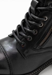 Pepe Jeans - MELTING RUSS - Bottines à lacets - black - 2