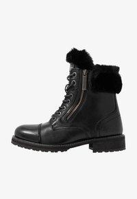 Pepe Jeans - MELTING RUSS - Bottines à lacets - black - 1