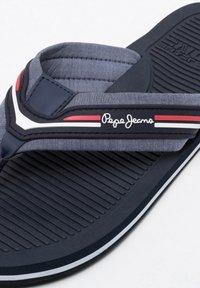 Pepe Jeans - OFF BEACH - Chanclas de dedo - chambray - 5