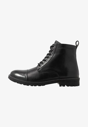 PORTER BOOT - Bottines à lacets - black
