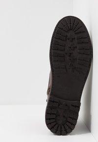 Pepe Jeans - PORTER BOOT BASIC - Snørestøvletter - burgundy - 4