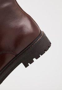 Pepe Jeans - PORTER BOOT BASIC - Snørestøvletter - burgundy - 5